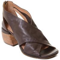 Pantofi Femei Sandale  Rebecca White T0409 |Rebecca White| D??msk?? kotn??kov?? boty z telec?? k??e v k??vo