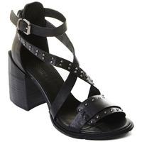 Pantofi Femei Pantofi cu toc Rebecca White T0501 |Rebecca White| D??msk?? sand??ly na vysok??m podpatku z ?ern??