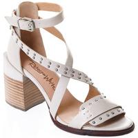 Pantofi Femei Pantofi cu toc Rebecca White T0501 |Rebecca White| D??msk?? sand??ly na vysok??m podpatku z telec??