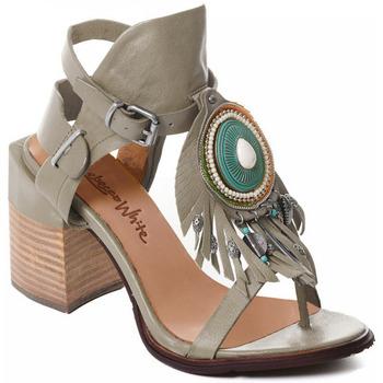 Pantofi Femei Pantofi cu toc Rebecca White T0509 |Rebecca White| D??msk?? sand??ly na vysok??m podpatku z hov??z?