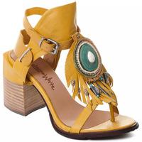 Pantofi Femei Pantofi cu toc Rebecca White T0509 |Rebecca White| D??msk?? sand??ly na vysok??m podpatku z okrov??
