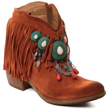 Pantofi Femei Botine Rebecca White T0601B |Rebecca White| D??msk?? ko?en?? kotn??kov?? boty s kor??lovou k