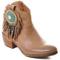 Pantofi Femei Botine Rebecca White T0605 |Rebecca White| D??msk?? ko?en?? kotn??kov?? boty s blokov?m pod