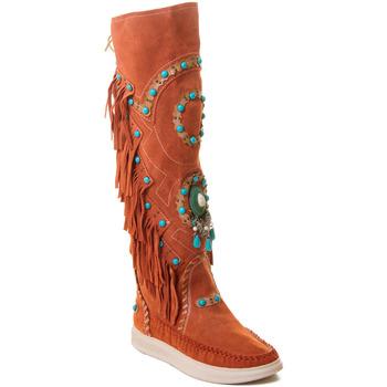 Pantofi Femei Cizme Rebecca White T6012 roșu
