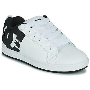 Pantofi Bărbați Pantofi de skate DC Shoes COURT GRAFFIK Alb / Negru