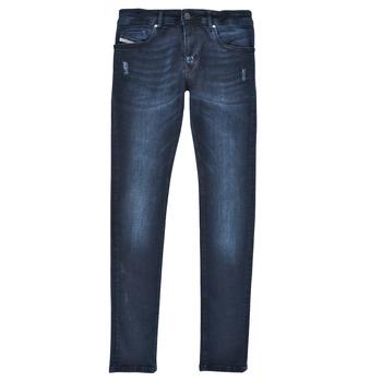Îmbracaminte Băieți Jeans skinny Diesel SLEENKER Albastru / Culoare închisă