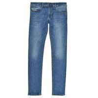Îmbracaminte Băieți Jeans skinny Diesel SLEENKER Albastru / Medium