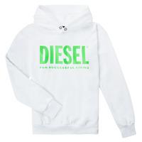 Îmbracaminte Copii Hanorace  Diesel SDIVISION LOGOX OVER Alb