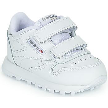Pantofi Copii Pantofi sport Casual Reebok Classic CL LTHR 2V Alb