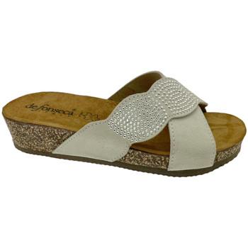Pantofi Femei Papuci de vară De Fonseca DEFONCERVIAbia bianco