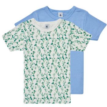 Îmbracaminte Băieți Tricouri mânecă scurtă Petit Bateau LOLITA Multicolor