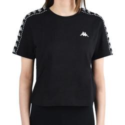 Îmbracaminte Femei Tricouri mânecă scurtă Kappa Inula T-Shirt Noir