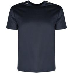 Îmbracaminte Bărbați Tricouri mânecă scurtă Les Hommes  albastru
