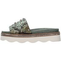 Pantofi Femei Papuci de vară Alma Blue V21BL7103 GREEN