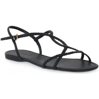 Pantofi Femei Sandale  Miss Unique UNIQUE   PRETO CALF Nero