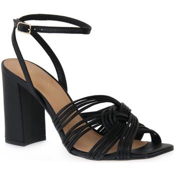 Pantofi Femei Sandale  Miss Unique UNIQUE   PRETO SMOOTHIE Nero