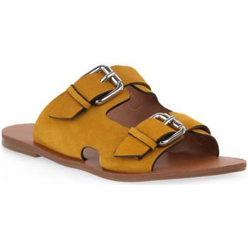Pantofi Femei Papuci de vară Miss Unique UNIQUE   SUNFLOWER CAM Giallo
