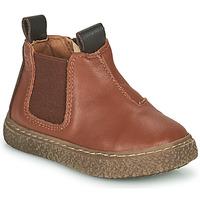 Pantofi Băieți Ghete Citrouille et Compagnie PESTACLE Camel