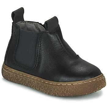 Pantofi Băieți Ghete Citrouille et Compagnie PESTACLE Negru