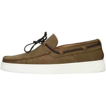 Pantofi Bărbați Mocasini Made In Italia 503 Green