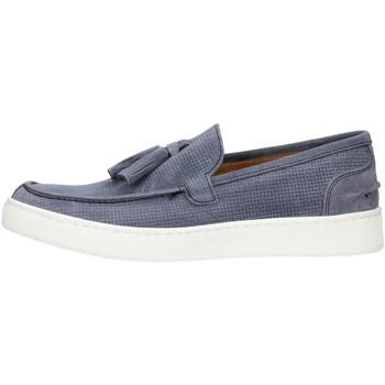 Pantofi Bărbați Mocasini Made In Italia 080CAMOSCIO Light blue