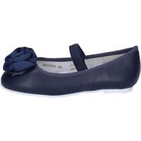 Pantofi Fete Balerin și Balerini cu curea Joli BH03 Albastru