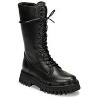 Pantofi Femei Ghete Bronx GROOV Y Negru