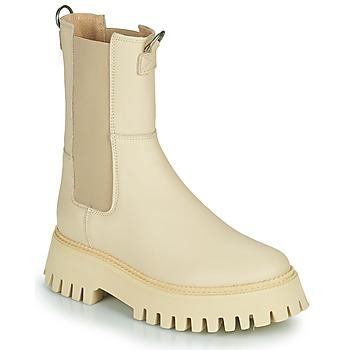 Pantofi Femei Ghete Bronx GROOV Y Bej