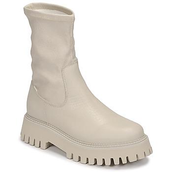 Pantofi Femei Ghete Bronx GROOV Y Alb