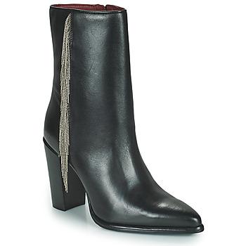 Pantofi Femei Cizme casual Bronx NEXT AMERICANA Negru