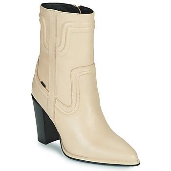 Pantofi Femei Cizme casual Bronx NEXT AMERICANA Bej