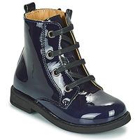 Pantofi Fete Ghete Citrouille et Compagnie HEMANU Albastru