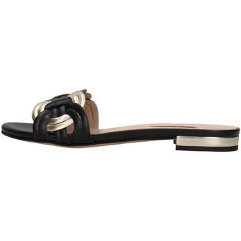 Pantofi Femei Papuci de vară Albano 8115 BLACK