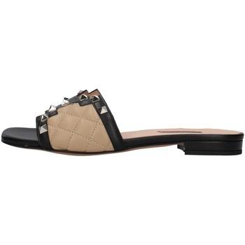 Pantofi Femei Papuci de vară Albano 8005 BLACK