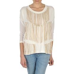 Îmbracaminte Femei Tricouri cu mânecă lungă  Eleven Paris ANGIE Alb