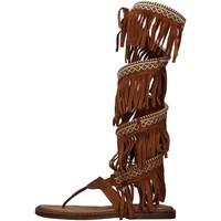 Pantofi Femei Sandale  Zoe INCAS04 BROWN