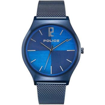 Ceasuri & Bijuterii Bărbați Ceasuri Analogice Police PL15918JSBL.03MM, Quartz, 44mm, 3ATM albastru