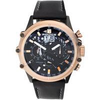 Ceasuri & Bijuterii Bărbați Ceasuri Analogice Police PL16018JSBR.02, Quartz, 49mm, 3ATM Auriu