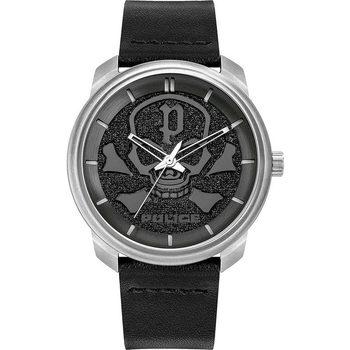 Ceasuri & Bijuterii Bărbați Ceasuri Analogice Police PL15714JS.02, Quartz, 44mm, 3ATM Argintiu