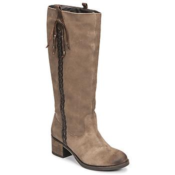 Pantofi Femei Cizme casual Betty London ELOANE Taupe