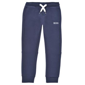 Îmbracaminte Băieți Pantaloni de trening BOSS PATELIN Albastru