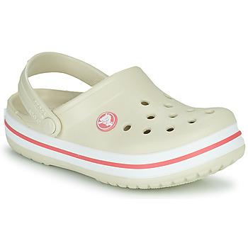 Pantofi Copii Saboti Crocs CROCBAND CLOG K Bej / Portocaliu