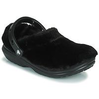 Pantofi Femei Saboti Crocs CLASSIC FUR SURE Negru