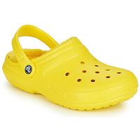 Pantofi Saboti Crocs CLASSIC LINED CLOG Galben