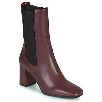 Pantofi Femei Botine Betty London PASTILLE Bordo