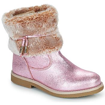 Pantofi Fete Ghete Citrouille et Compagnie PAKRETTE Roz / Iris