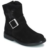 Pantofi Fete Ghete Citrouille et Compagnie POUDRE Negru