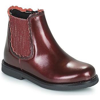 Pantofi Fete Ghete Citrouille et Compagnie PRAIRIE Bordo