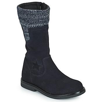Pantofi Fete Cizme casual Citrouille et Compagnie PRARA Albastru