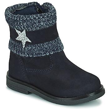 Pantofi Fete Ghete Citrouille et Compagnie PASTEK Albastru